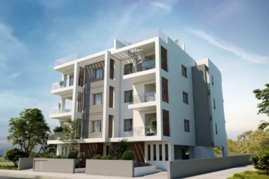 One bedroom elegant apartment in modern building in Ekali, Limassol