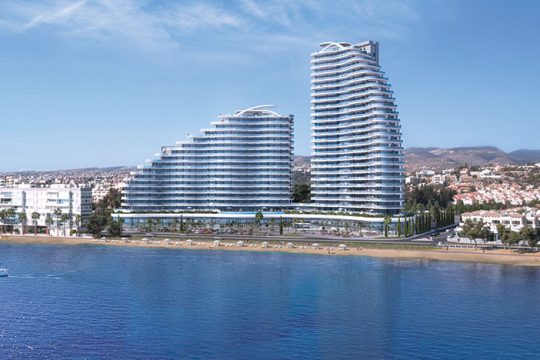 2 bedroom + office luxurious apartment in the most desired area in Limassol