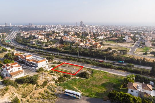 Plot in Germasogeia, Limassol easy access to the highway