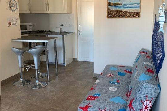 One bedroom apartment for sale near the beach