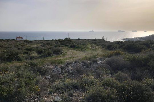 Huge land for sale in Pentakomo near the beach of Agios Georgios Alamanou
