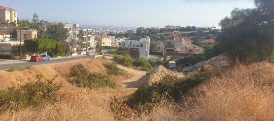 A corner plot of 515 sq. m. in a quiet area of Agia Fyla
